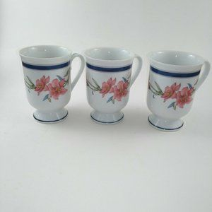 Princess House Exclusive Fine Porcelain Footed Cup